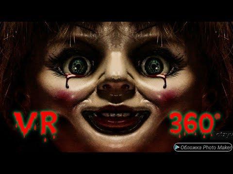 #2 Vr Проклятье Аннабель Зарождение Зла (реакция на видео vr 360°)!