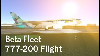 ROBLOX | Beta Fleet 777-200 Flight.