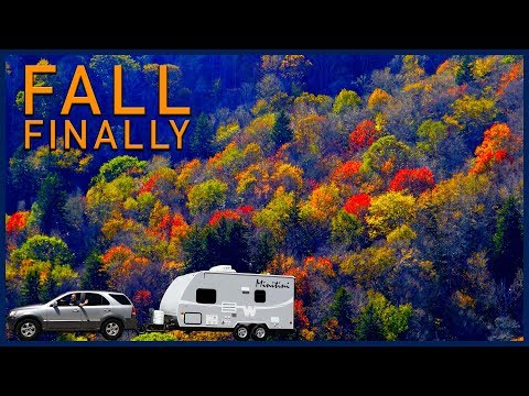 Blue Ridge Parkway and Other Mountain Roads - RV Travel to the Smoky Mountains National Park