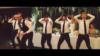 surprise bridal party wedding dance noytownwedding