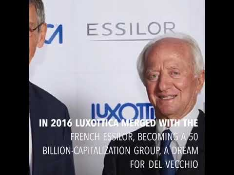 Leonardo Del Vecchio, Luxottica's founder - YouTube