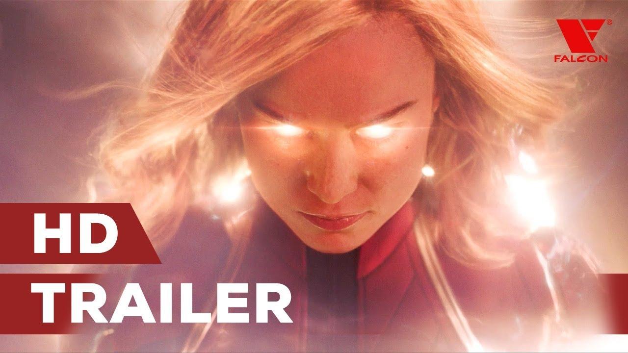 Captain Marvel (2019) HD trailer #1 [CZ tit.]
