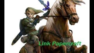 Papercraft Link Twilight Princess (Heroe del Crepusculo)