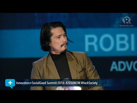 Social Good Summit 2016: Robin Padilla tells millennials to 'fight the good cause'