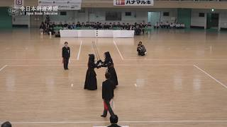 KAGOSHIMA vs OKAYAMA 11th All Japan Interprefecture Ladies KENDO Championship 2019 Final
