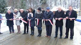 Otwarcie nowego mostu w Terce