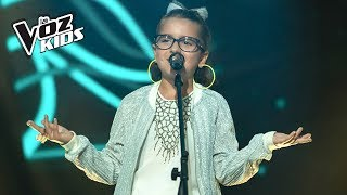 Monserrat canta Chocolate - Audiciones a ciegas | La Voz Kids Colombia 2018 thumbnail