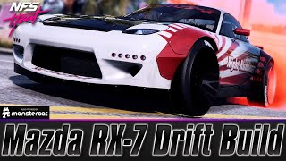 Need For Speed Heat: Mazda RX-7 Spirit R   FULLY UPGRADED DRIFT BUILD   DO NOT USE DRIFT PARTS!!!