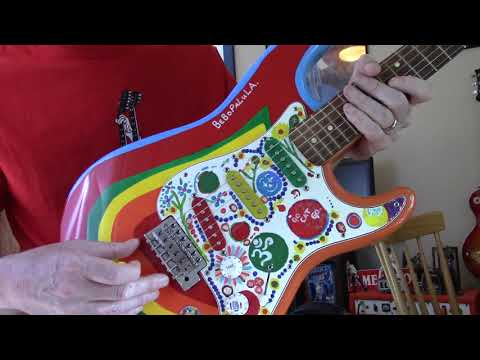 "My Guitars: Fender Stratocaster George Harrison ""Rocky"" Replica"