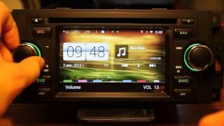 Универсальная магнитола от Witson для Chrysler, Dodge, Jeep (W2-M206) S-160 Android