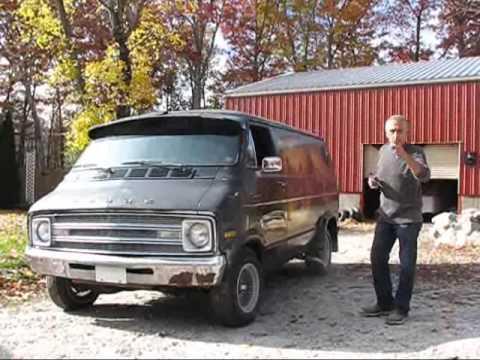 1976 Dodge B20 Short no- window van