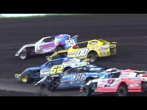 IMCA Sportmod Heat 2 Boone Speedway Boone Iowa 8/20/16