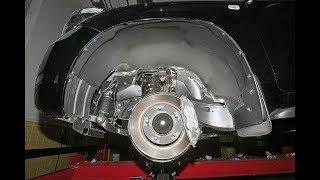 Шумоизоляция колесных арок Тойота Камри