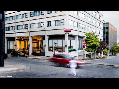 The Hollis Halifax - A DoubleTree Suites Hotel, Canada - Review Of One Bedroom Suite 911