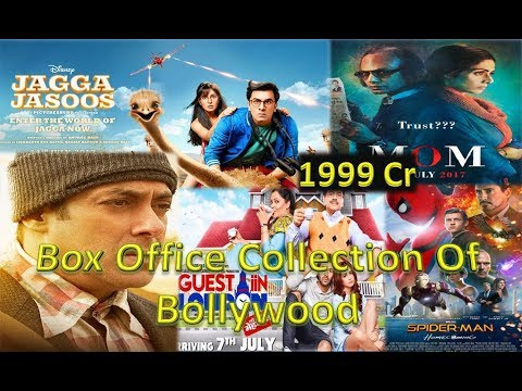 Box Office Collection Of Jagga Jasoos/ Spider-man Homecoming/ Tubelight/ Mom/ Guest Iin London 2017