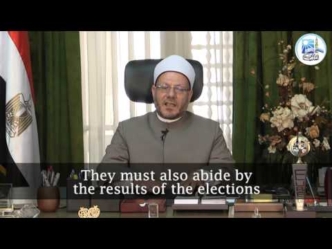 Grand Mufti of Egypt urges Egyptians to part in presidential elections 2014