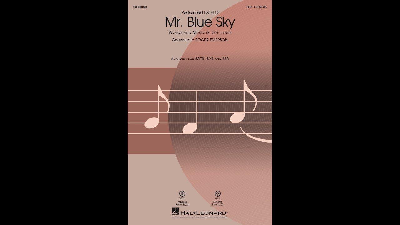 Mr  Blue Sky | Hal Leonard Online