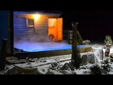 DIY теплый бассейн зимой своими руками