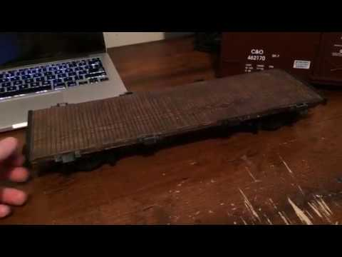 G-Scale Flat Car – Quick DIY Project