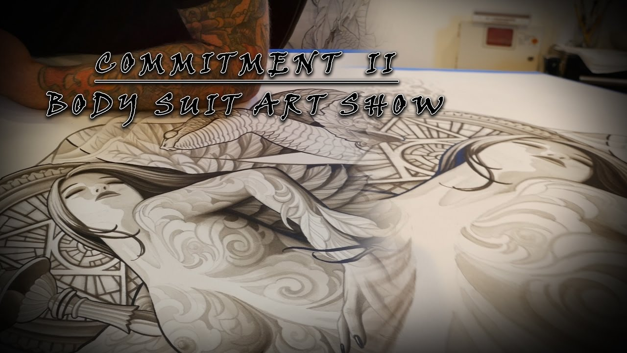 Guru Tattoo Body Suit Art Show | Commitment II - Part 5 - YouTube