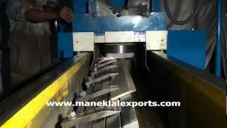 Manek - Knife Sharpening / Blade Grinding Machine - with Clamping Type Table