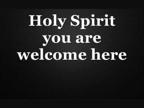 Holy Spirit Instrumental Karaoke Lyrics In D With Chords