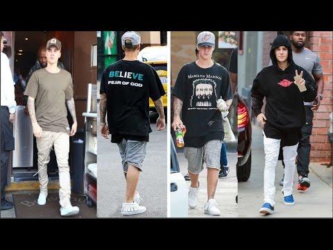 Justin Bieber Wearing Fear Of God - Justin Bieber Fan International