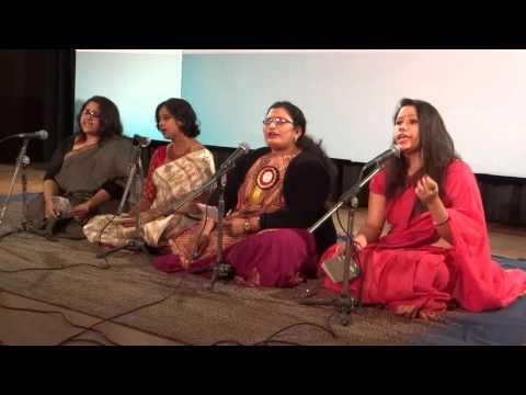 Mera Anchal Rabindra Sangeet by JNU Students