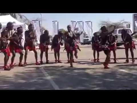 Oshiwambo traditional dance.