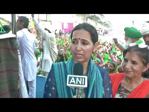 Women take over farm protests in India
