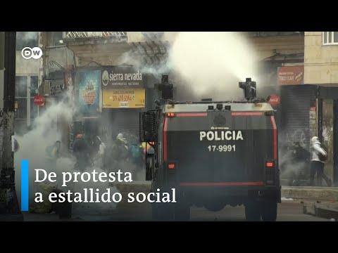 La indignació segueix ocupant els carrers a Colòmbia