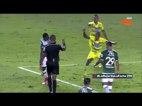 Deportivo Cali 2 - 1 Atlético Bucaramanga. Fecha 11 Liga Aguila 2017 II | Win Sports