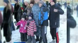Красноярские полицейские вернулись с Северного Кавказа