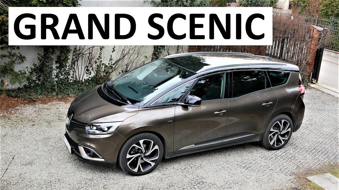 2017 renault grand scenic review pl test 60 prezentacja recenzja youtube. Black Bedroom Furniture Sets. Home Design Ideas