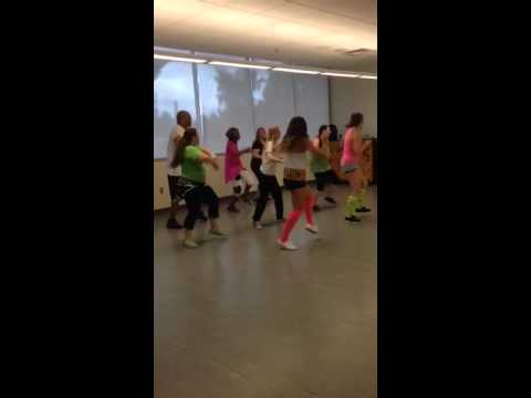 Lower Columbia College Zumba Class Project