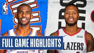 THUNDER at TRAIL BLAZERS | FULL GAME HIGHLIGHTS | December 8, 2019 Video