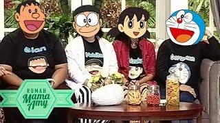 Wow Keren! Ternyata Ini Pengisi Suara Doraemon, Nobita, Suneo, Giant - Rumah Mama Amy (31/8)