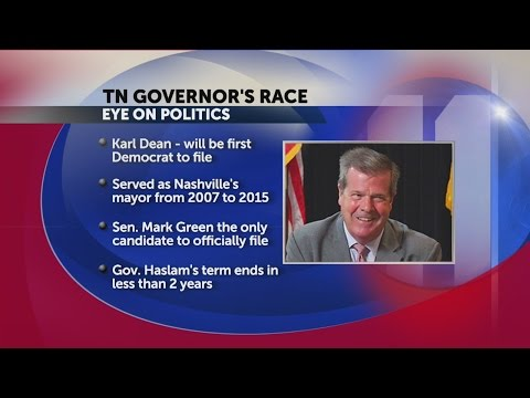 Former Nashville Mayor Karl Dean announces run for governor of Tennessee