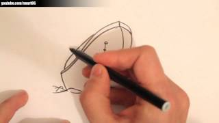 How to draw a titanic ship
