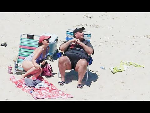 Chris Christie Needed The Whole Beach For Himself...