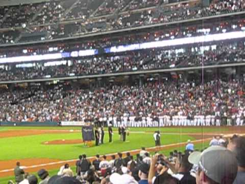 The Houston Astros Honor Mariano Rivera (w/ Milo Hamilton and Joe Torre)