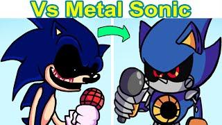 Friday Night Funkin vs Metal Sonic FULL WEEK (FNF MOD/HARD) (BOTPLAY)