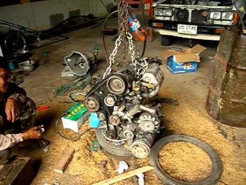 ld20 ii new timing belt youtube rh youtube com Fenix LD20 R5 89 Nissan L Engine Carburetor