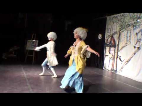 אירנה ויסוצקיFrench royal court dance in the 17th centuryIrene Wissotsy