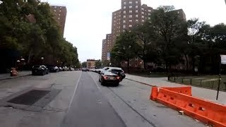 Cycling through NYC neighborhoods in the South Bronx (Concourse, Melrose, Mott Haven, Port Morris)