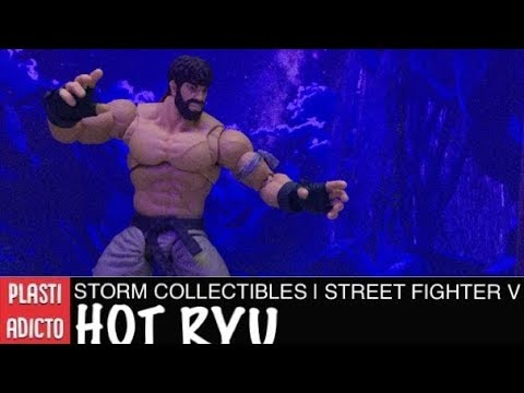 Storm Collectibles SDCC 2017   Street Fighter V • HOT RYU • Video Review en Español