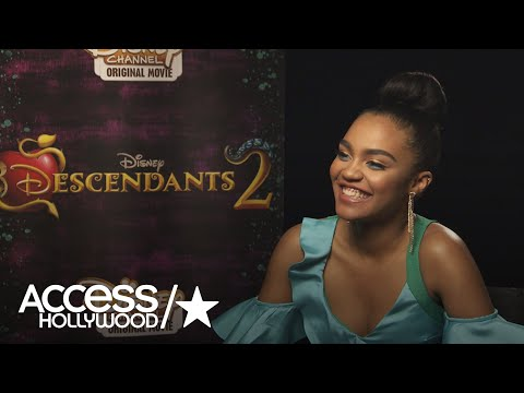 China Anne McClaine On Joining Cast Of 'Descendants 2' | Access Hollywood
