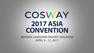 Cosway Asia Convention 2017
