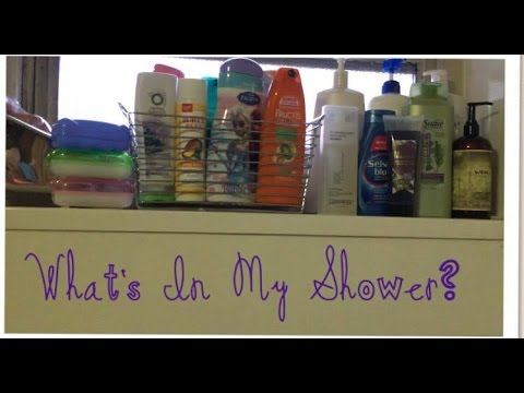 What's In My Shower Tour!