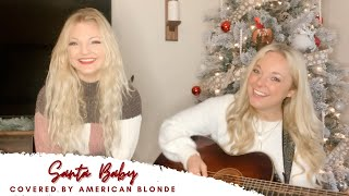 American Blonde - Santa Baby (Eartha Kitt Cover)